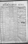 Alamogordo News, 03-13-1909