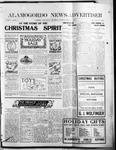 Alamogordo News Advertiser, 12-07-1912 by Chas. P. Downs