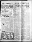Alamogordo News Advertiser, 12-14-1912 by Chas. P. Downs