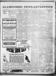 Alamogordo News Advertiser, 01-11-1913 by Chas. P. Downs