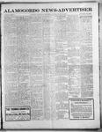 Alamogordo News Advertiser, 01-25-1913 by Chas. P. Downs