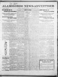 Alamogordo News Advertiser, 02-01-1913 by Chas. P. Downs
