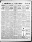 Alamogordo News Advertiser, 03-01-1913 by Chas. P. Downs