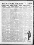 Alamogordo News Advertiser, 03-15-1913 by Chas. P. Downs