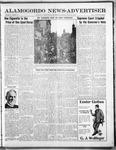 Alamogordo News Advertiser, 03-22-1913 by Chas. P. Downs