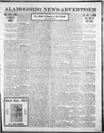 Alamogordo News Advertiser, 04-12-1913 by Chas. P. Downs