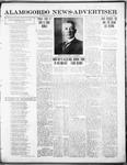 Alamogordo News Advertiser, 05-02-1913 by Chas. P. Downs