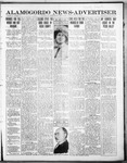 Alamogordo News Advertiser, 05-16-1913 by Chas. P. Downs