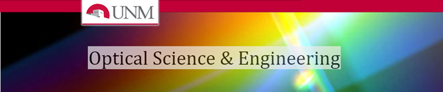 Optical Science and Engineering ETDs