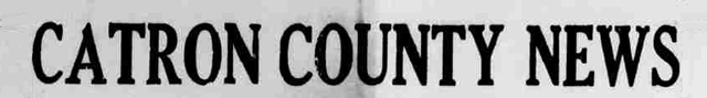 Catron County News, 1947-1948