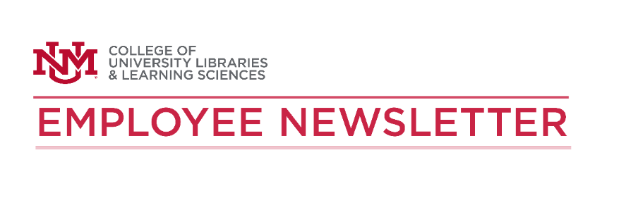 University Libraries Employee Newsletters