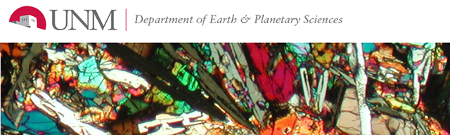 Earth and Planetary Sciences ETDs