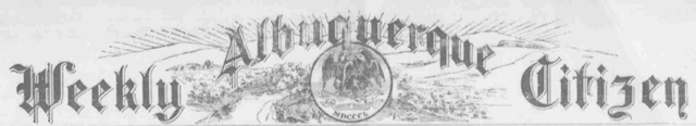 Albuquerque Citizen, 1891-1906