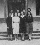 Mortar Board Society, Maia Chapter, 1940, University of New Mexico by Mortar Board Society