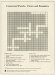 Crossword Puzzle: Firsts and Founders