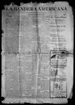 La Bandera Americana, 08-03-1901 by M. Salazar y. Otero