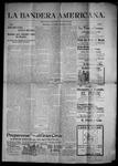 La Bandera Americana, 09-07-1901 by M. Salazar y. Otero