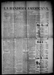 La Bandera Americana, 02-06-1903 by M. Salazar y. Otero