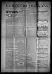 La Bandera Americana, 12-04-1903 by M. Salazar y. Otero