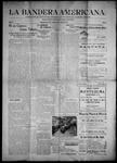 La Bandera Americana, 08-25-1905 by M. Salazar y. Otero