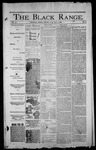The Black Range, 05-01-1896 by Black Range Print Co.