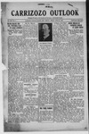 Carrizozo Outlook, 04-26-1918 by William Kabler