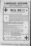 Carrizozo Outlook, 05-10-1918 by William Kabler