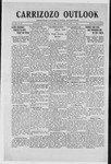 Carrizozo Outlook, 08-09-1918 by William Kabler