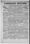 Carrizozo Outlook, 08-23-1918 by William Kabler