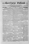 Carrizozo Outlook, 09-12-1919 by William Kabler