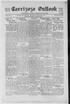 Carrizozo Outlook, 05-28-1920 by William Kabler