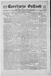 Carrizozo Outlook, 08-20-1920 by William Kabler