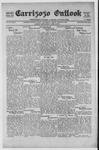 Carrizozo Outlook, 08-27-1920 by William Kabler