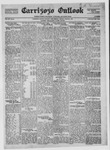 Carrizozo Outlook, 08-05-1921 by William Kabler