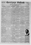 Carrizozo Outlook, 08-12-1921 by William Kabler