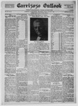 Carrizozo Outlook, 08-19-1921 by William Kabler