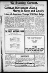 Evening Current, 07-16-1918 by Carlsbad Printing Co.