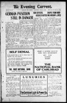 Evening Current, 07-31-1918 by Carlsbad Printing Co.