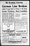 Evening Current, 08-09-1918 by Carlsbad Printing Co.