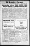 Evening Current, 09-07-1918 by Carlsbad Printing Co.