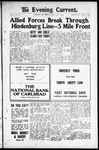 Evening Current, 10-04-1918 by Carlsbad Printing Co.