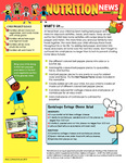 Nutrition Newsletter English - Module 1
