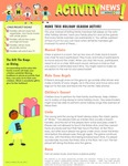 Physical Activity Newsletter English - Module 2 by UNM Prevention Research Center