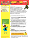 Nutrition Newsletter English - Module 2 by UNM Prevention Research Center
