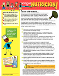 Nutrition Newsletter Spanish - Module 2 by UNM Prevention Research Center