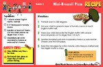 Nutrition Take Home Kits English - Module 2 by UNM Prevention Research Center