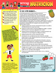 Nutrition Newsletter Spanish - Module 3 by UNM Prevention Research Center