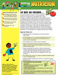 Nutrition Newsletter Spanish - Module 4 by UNM Prevention Research Center