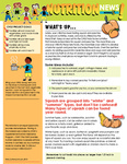 Nutrition Newsletter English - Module 5 by UNM Prevention Research Center