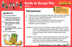 Nutrition Take Home Kits Spanish - Module 6 by UNM Prevention Research Center